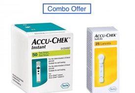 Accu Chek Instant Strip & Lancet Combo