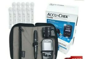 Accu Chek Guide Wireless Blood Glucose Monitoring System With 10 Test Strips Free
