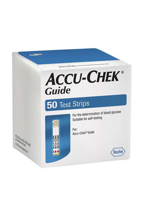 accu chek guide test strips 50 buy online