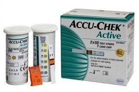 Accu Chek Active 100 Strips