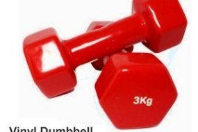 Vinyl Dumbell 3 Kg