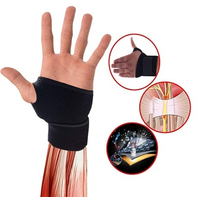 wrist wrap support gym buy online india