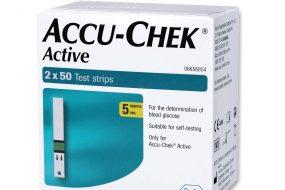 Accu-chek active strips 100