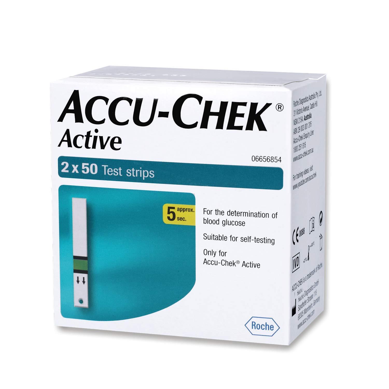 accu chek active 100 pcs buy online