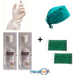 Cipla hand sanitizer and Mask & Gloves