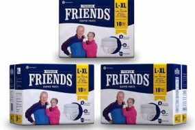 Friends Adult Diaper Large – XL Pack Of 30