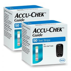 Accu Chek Guide 100 Strips