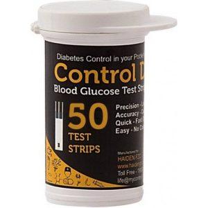 Control D Glucometer Strips