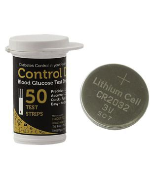 control d glucometer strips and batteries buy online