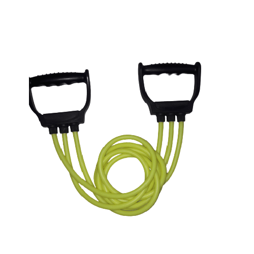 triple resistance band in Green color
