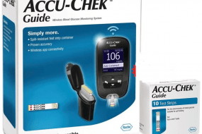 Accu-Chek Guide Glucometer With Free 10 Strips