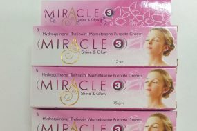 Miracle Shine and Glow Cream Pack of 3