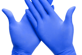 Nitrile Disposable Powder Free 50 pcs Gloves