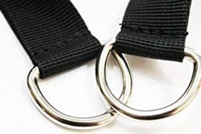 Resistance Band Handle with Carabiner and Door anchor
