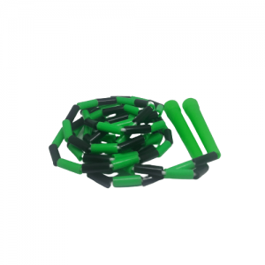 Beaded Skipping Ropes Green and black