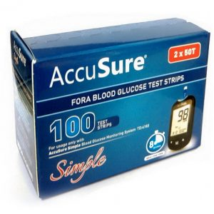 Accu Sure Simple 100 strips