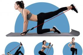 Resistance band with door anchor System