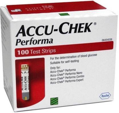 Accu Chek Performa 100 pack Strips