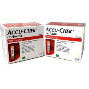 Accu-Chek Performa Glucometer 200 Strips