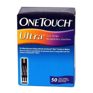 One Touch Ultra Test Strips 50