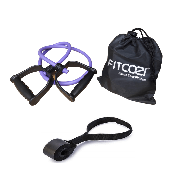 resistance band with door anchor